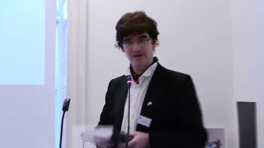 Clemens Heni speaks at the Internation Conference of the Journal for the Study of Antisemitism ((JSA) in London, December 2012